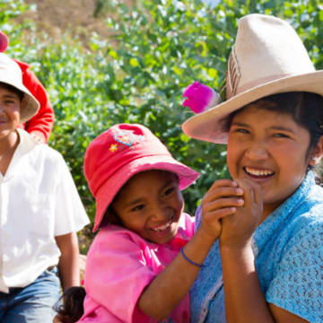 CAFOD is helping families in Peru look to the future with hope