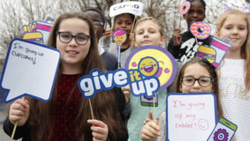 Children give it up for Lent