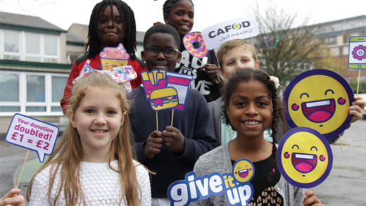 Join our give it up challenge this Lent!