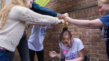 CAFOD young leaders Make a Splash! for Lent.
