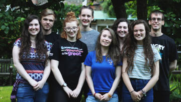 Meet the team of new Step into the Gap volunteers.