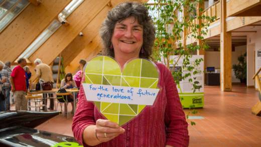CAFOD supporter promises to help future generations