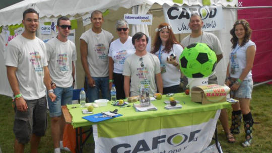 CAFOD Brentwood at the V Festival