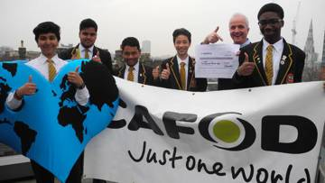 Use CAFOD's free secondary teaching resources to inspire young people.