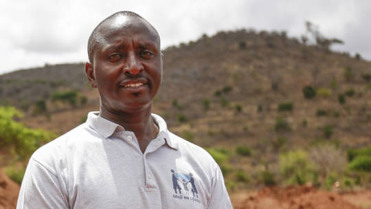 George is a water and sanitation expert for CAFOD's Emergency Response Team.