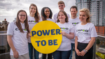 CAFOD climate champions with power to be sun
