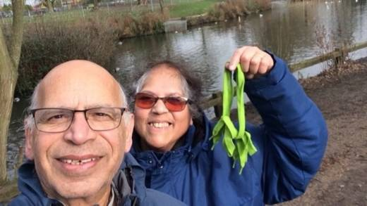 Jack and Mel rasied £2,000 by walking for water
