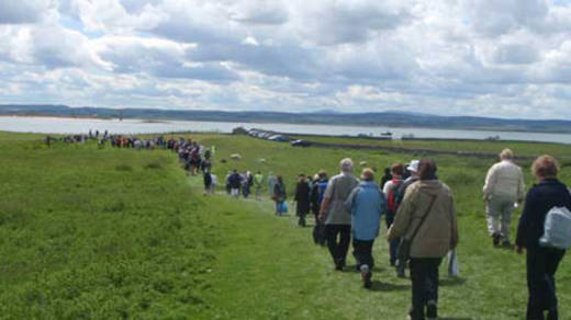The Holy Island Pilgrimage, 2008