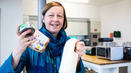 CAFOD's Susy Brouard is going vegan during Lent 2018