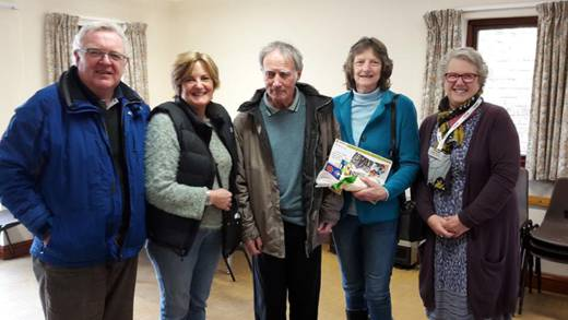 CAFOD Nottingham CPC Maggie with Parish Volunteers from the Nottingham Diocese