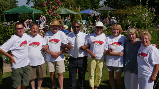 Volunteer co-ordinator organises fundraising BBQ with his volunteer team for Catholic charity CAFOD