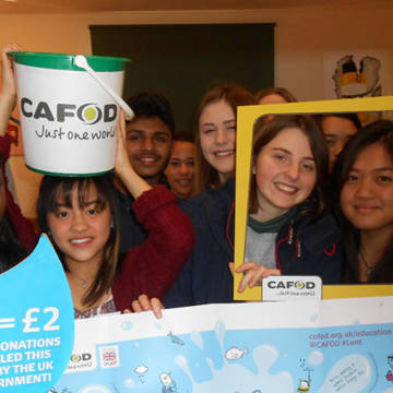 Oaklands College Sixth Form organse a basketball tournament for CAFOD's Lent Appeal