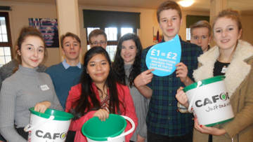 CAFOD Salesians Young Leaderships Lent matched funding