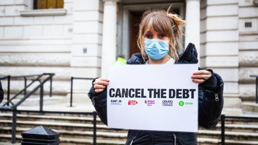 Some banks and speculators are continuing to demand debt repayments from countries struggling to fight the pandemic