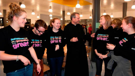 Fr Christopher Jamison OSB meets the gappers!