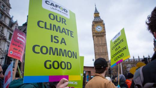 CAFOD supporters are creating the momentum for action against climate change