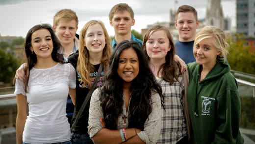 Young CAFOD volunteers