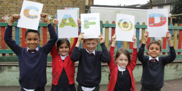 Children have been supporting CAFOD.
