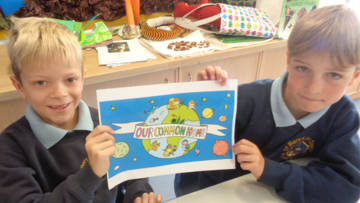Children reflect on laudato Si'