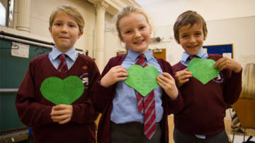 Use CAFOD rsources to share the love this Valentine's day
