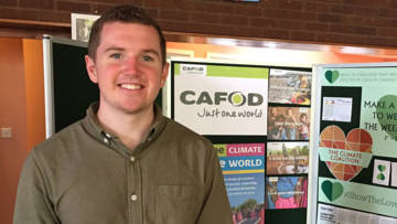 Jason is a CAFOD volunteer