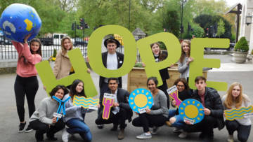 Join our CAFOD campaigns for young people, including our refugee campaign.