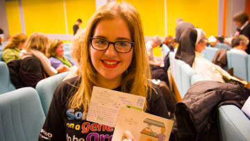 Molly Kate is a CAFOD volunteer and young leader