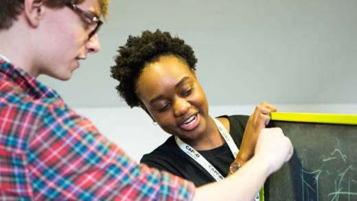 CAFOD's youthwork sessions