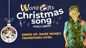 World Gifts Christmas song fundraising