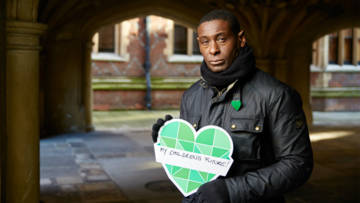 CAFOD ambassador, actor David Harewood MBE, supported our climate change campaign.