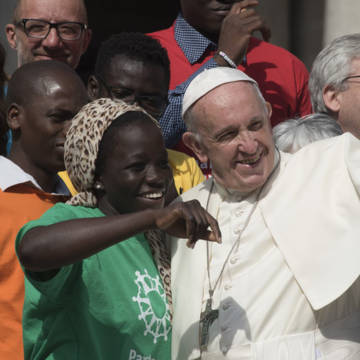 Pope Francis launches Caritas Internationalis Share the Journey Campaign