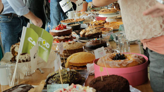 Hold a cake sale or bake off at your office, school or parish to fundraise for CAFOD