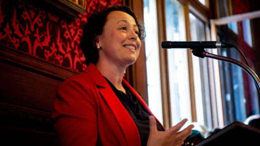 Catherine McKinnell MP who is the Chair of the Parliamentary Friends of CAFOD spoke passionately about CAFOD's work in Parliament.
