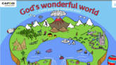 An online activity for children to create their own wonderful world.