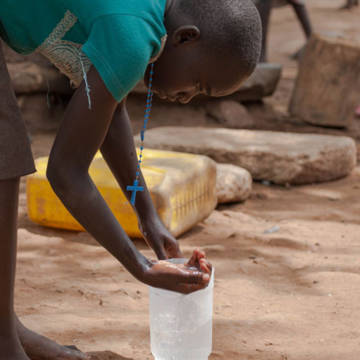 This Lent, your donation could turn on the taps for girls like Proscovia